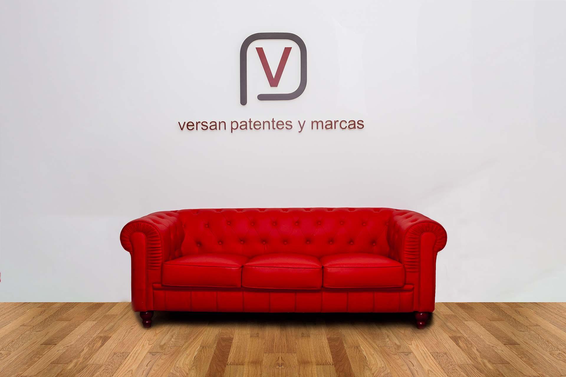 patentes y marcas versan